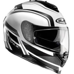 CASCO HJC IS-17 CYNAPSE MC5 NEGRO