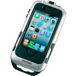 FUNDA SOPORTE CELLULAR LINE IPHONE 4G (SMIPHONE4SILVER)