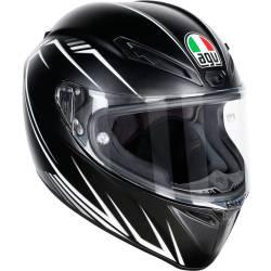 CASCO AGV VELOCE S PREDATORE NEGRO/BLANCO