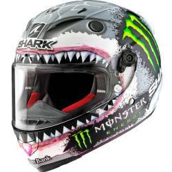 CASCO SHARK RACE-R PRO REPLICA LORENZO WHITE SHARK
