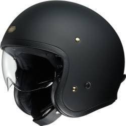 CASCO SHOEI J.O NEGRO MATE