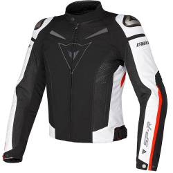 CHAQUETA DAINESE SUPER SPEED TEX PERFORADA ROJO