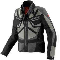CHAQUETA SPIDI VENTAMAX H2OUT NEGRO/GRIS