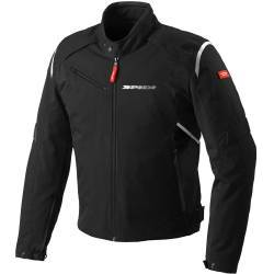 CHAQUETA SPIDI FLASH TEX NEGRO