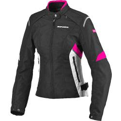 CHAQUETA SPIDI FLASH TEX NEGRO/FUCSIA LADY