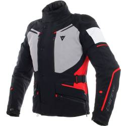 CHAQUETA DAINESE CARVE MASTER 2 GORE-TEX NGR/GRS/RJO