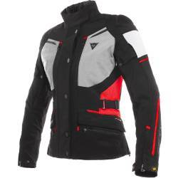 CHAQUETA DAINESE CARVE MASTER 2 LADY GORE-TEX NGR/RJO