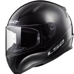 CASCO LS2 RAPID NEGRO BRILLO