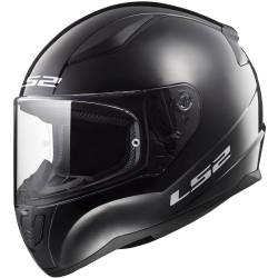 CASCO LS2 RAPID MINI NEGRO BRILLO INFANTIL