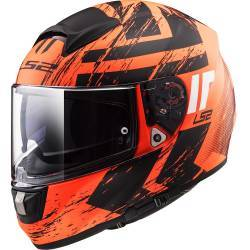 CASCO LS2 VECTOR FT2 HUNTER NARANJA