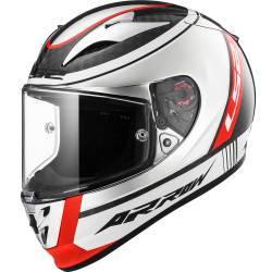 CASCO LS2 ARROW C EVO CARBONO INDY CROMADO
