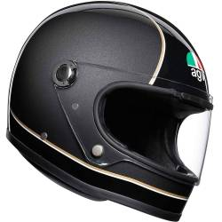 CASCO AGV LEGENDS X3000 SUPER AGV NEGRO/GRIS
