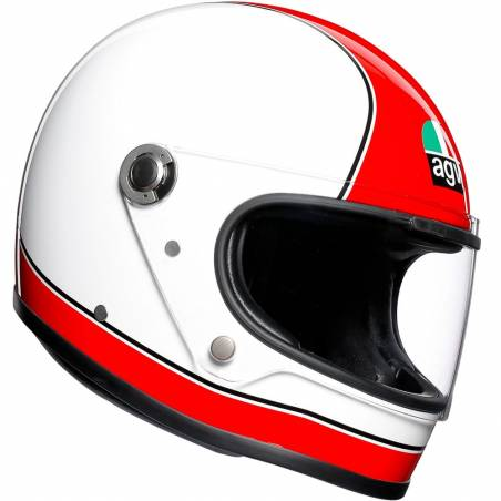 CASCO AGV LEGENDS X3000 SUPER AGV ROJO/BLANCO