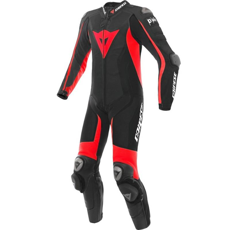 b1f7233023a MONO DAINESE D-AIR RACING (AIRBAG) MISANO NEGRO ROJO FLUOR - BeatBikers