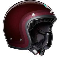 CASCO AGV X70 LEGENDS TROFEO PURPLE RED