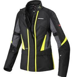 CHAQUETA SPIDI TRAVELER 2 H2OUT LADY FLUOR