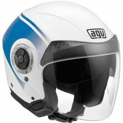 CASCO AGV CITYLIGHT WORLD AZUL