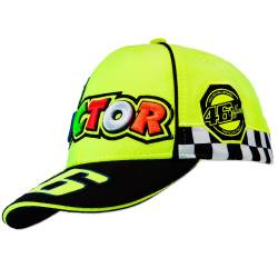 GORRA VALENTINO ROSSI FLUO YELLOW INFANTIL