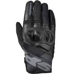 GUANTES SPIDI FLASH-R EVO LADY PERFORADOS NEGRO