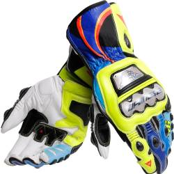 GUANTES DAINESE FULL METAL 6 REPLICA ROSSI VR46