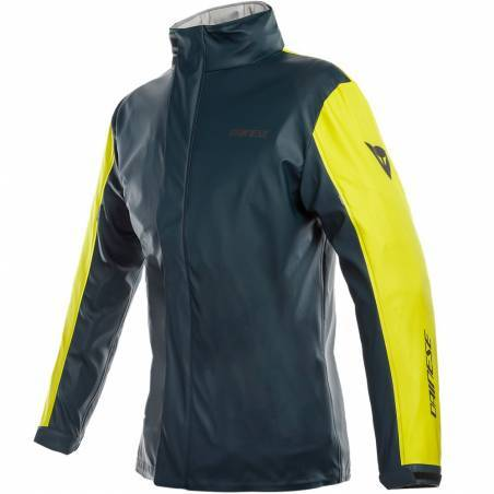 CHAQUETA DAINESE IMPERMEABLE STORM LADY JACKET TITANIO/FLUOR