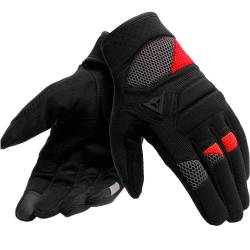GUANTES DAINESE FOGAL UNISEX PERFORADOS ROJO