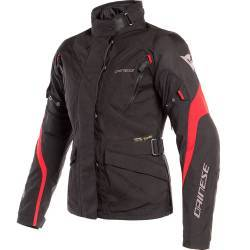CHAQUETA DAINESE TEMPEST 2 D-DRY LADY NEGRO/ROJO