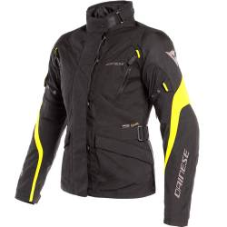 CHAQUETA DAINESE TEMPEST 2 D-DRY LADY NEGRO/AMARILLO