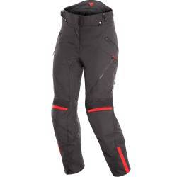 PANTALONES DAINESE TEMPEST 2 D-DRY LADY NEGRO/ROJO