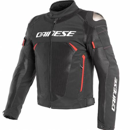 CHAQUETA DAINESE DINAMICA AIR D-DRY NEGRO/ROJO