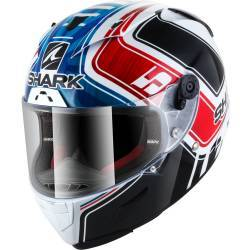 CASCO SHARK RACE-R PRO ZARCO GP DE FRANCIA BLANCO