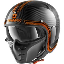 CASCO SHARK S-DRAK CARBON VINTA DUO