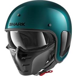 CASCO SHARK S-DRAK VERDE METAL GGM