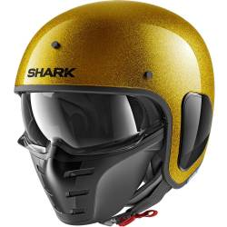 CASCO SHARK S-DRAK GLITTER GOLD GGX