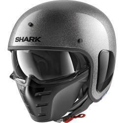 CASCO SHARK S-DRAK GLITTER TITANIO SSX