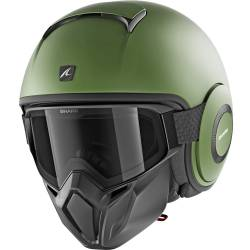 CASCO SHARK STREET-DRAK VERDE MATE GMA