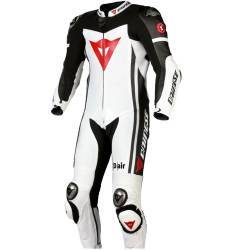 MONO DAINESE D-AIR RACING (AIRBAG) BLANCO/NEGRO