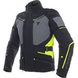 CHAQUETA DAINESE CARVE MASTER 2 GORE-TEX NGR/GRS/AMR