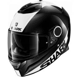 CASCO SHARK SPARTAN CARBON 1.2 SKIN BLANCO DWS