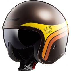 CASCO LS2 SPITFIRE SUNRISE MARRON