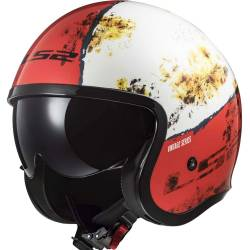 CASCO LS2 SPITFIRE RUST RED