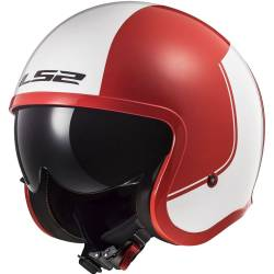 CASCO LS2 SPITFIRE RIM RED