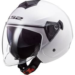 CASCO LS2 TWISTER II BLANCO