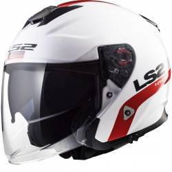 CASCO LS2 INFINITY SMART BLANCO