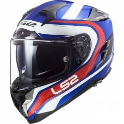 CASCO LS2 CHALLENGER FUSION BLUE RED