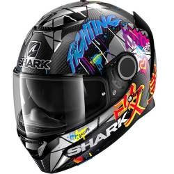 CASCO SHARK SPARTAN CARBON 1.2 LORENZO CATALUNYA GP DXR