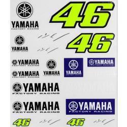 JUEGO ADHESIVOS YAMAHA VR46
