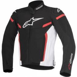 CHAQUETA ALPINESTARS T-GP PLUS R V2 AIR NEGRO/BLANCO/ROJO