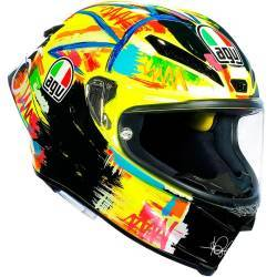 CASCO AGV PISTA GP R ROSSI WINTER TEST 2019 EDIT LIMIT