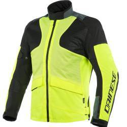 CHAQUETA DAINESE AIR TOURER TEX AMARILLO FLUOR